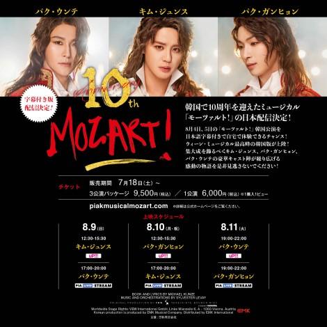 韓国ミュージカル,モーツァルト,キム・ジュンス,パク・ウンテ,パク・ガンヒョン,