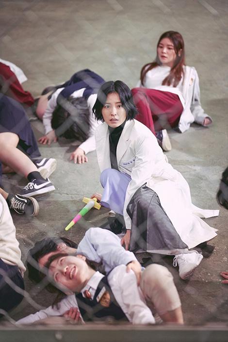 チョン・ユミ、保健教師アン・ウニョン