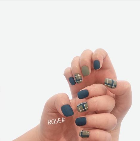 チェックネイル, ネイルシール, Nail Sticker, ネイル, KOARI